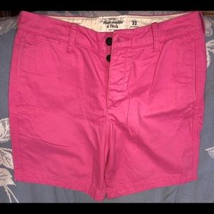 NWOT Mens 33 Abercrombie & Fitch Classic Shorts